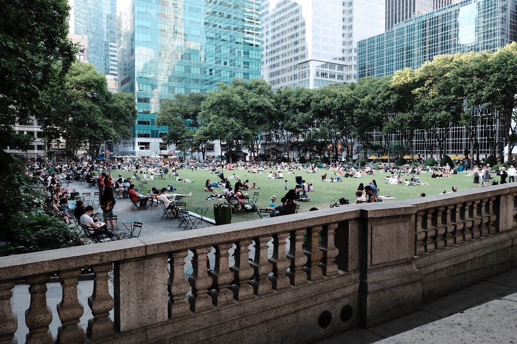 bryant park, nyc parks