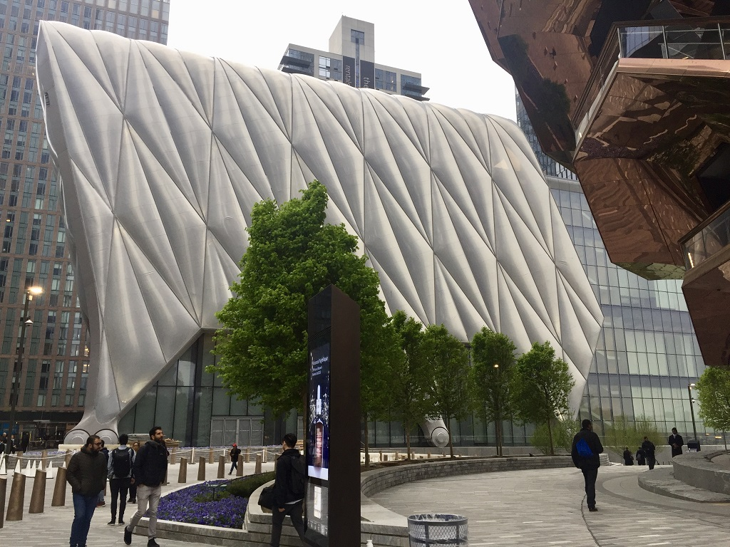 the shed, hudson yards