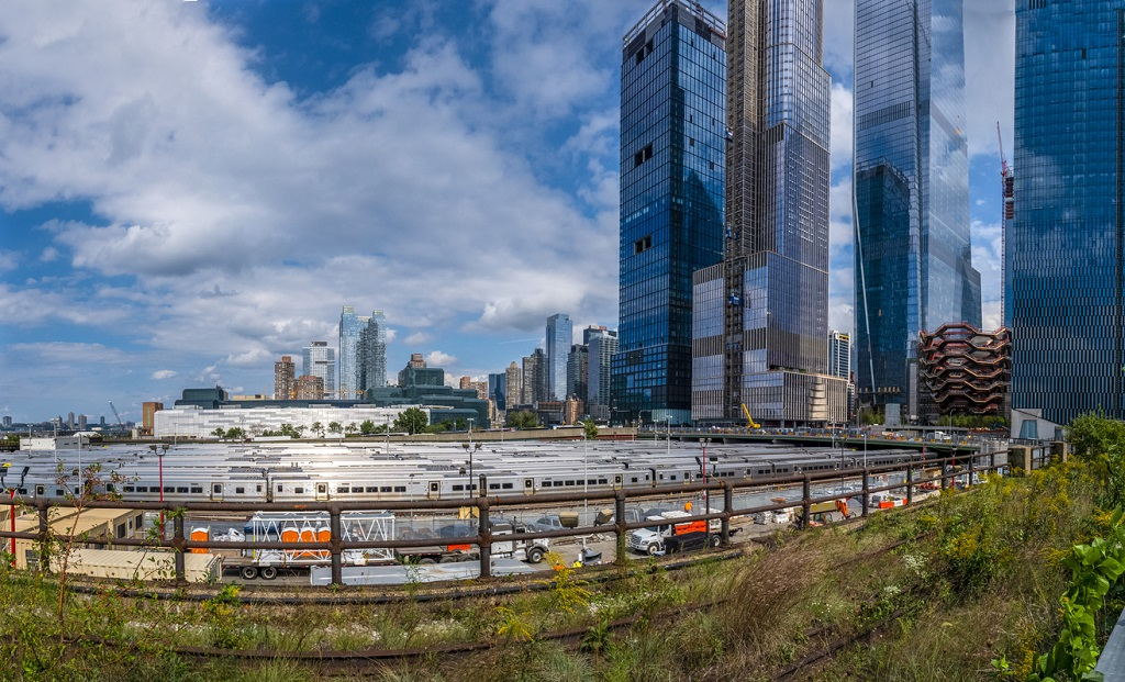 hudson yards, west side yard, rail yard