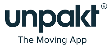 unpakt, unpakt logo, moving apps